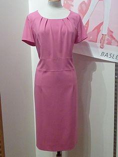 Basler Pink Zebra Dress 44 Peony