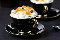 Risole Dessertvarianten av risengrynsgrøt. Perfekt når du har grøtrester i huset. Chocolate Coffee, Pudding, Tableware, Food, Dinnerware, Puddings, Dishes, Meals, Yemek