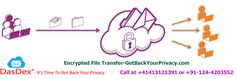 Encrypted File Transfer-GetBackYourPrivacy.com