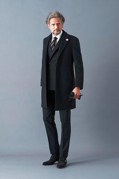 スーツからカジュアルまで、スポルベリーノは使いよう