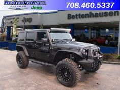 Get your ONE OF A KIND RECON Jeep - New 2015 Jeep Wrangler Unlimited Unlimited Sahara RECON for sale in Orland Park, Illinois - Bettenhausen Chrysler Jeep