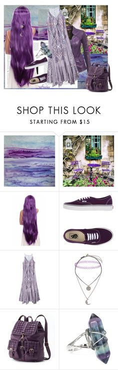 """""""Untitled #980"""" by strodian ❤ liked on Polyvore featuring Maureen Kerstein, WALL, Danier, Vans, Rebecca Taylor, Topshop and Mellow World"""