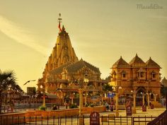 Somnath Temple called the Eternal Shrine is the first Jyotirling site that devotees throng to every day. Here is the history of Somnath Temple and travel guide on what to expect. Lord Shiva Mantra, Shri Ganesh Images, Indian Flag Wallpaper, Third Temple, Sanctum Sanctorum, Temple Gardens, Lord Shiva Painting, Hindu Art, India Travel
