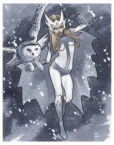 Snowbird by Mahmud Asrar *