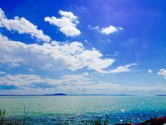 Lake Balaton in Hungary:)