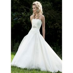 wedding dress   Tumblr found on Polyvore featuring polyvore, women's fashion, clothing, dresses, wedding dresses, wedding, wedding dress's and weddings