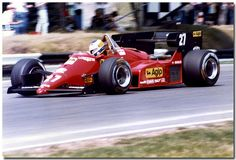 Now I don't know about you but this is a model I would dearly love to have, not sure if the wife would be happy the day I told her I . Ferrari F1, Ferrari Scuderia, Ferrari Racing, F1 Racing, Grand Prix, Hans Joachim Stuck, Michele Alboreto, Race Engines, Formula 1 Car