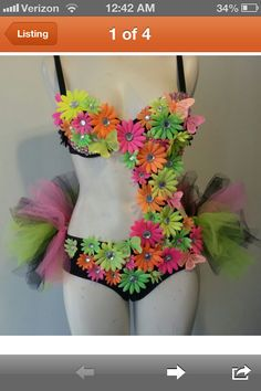 Daisy rave, I would love to wear something like this!