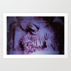 angel05 Art Print by Richard J Wise - $17.68