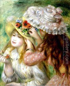 Summer Hats  By Pierre Auguste Renoir
