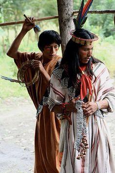 Ashaninka Indian men