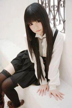 COsplay   Shirakiin Ririchiyo - Inu x Boku SS