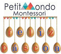 Petit Mondo Montessori deseja uma Feliz Páscoa! Montessori, Washer Necklace, Portugal, Party, Blog, Happy Easter Day, Blogging, Receptions, Direct Sales Party