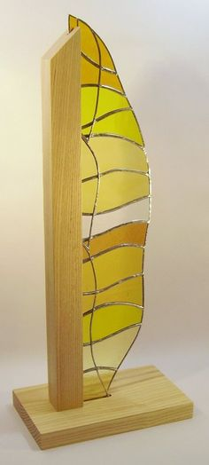 Rift Valley freestanding stained glass art                                                                                                                                                                                 More