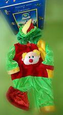 Costume Carnevale Bambino CLOWN 912 MESI rosso verde giallo | eBay