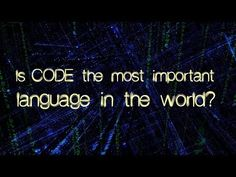 Is Code the Most Important Language in the World? | Off Book | PBS Digital Studios #programming #stem #compsci #kidscancode #edtech