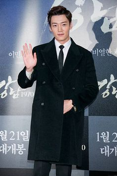 South Korean actor Choi Jin-Hyuk attends the VIP screening of 'Gangnam Blues' at COEX Mega Box on January 2015 in Seoul, South Korea. The film will open on January in South Korea. Korean Celebrities, Korean Actors, Choi Jin Hyuk, Romance Novels, Seoul, Kdrama, Blues, Suit Jacket, January 21