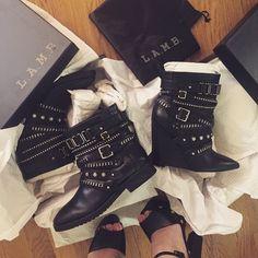 #LAMBlovers / #LAMBfashion / boots / grunge