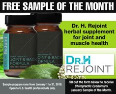 FREE Dr. H Rejoint Herbal Supplement Sample - http://ift.tt/1Tssdfc