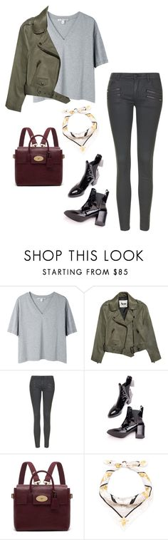 """Untitled #447"" by giuliabardelli ❤ liked on Polyvore featuring Acne Studios, Topshop, Mulberry and Versace"