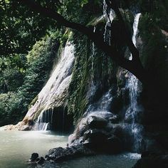 """Batlag Falls in Tanay, Rizal makes you feel like you're stepping into a story book.   Photo taken by @minervadelfino ☺  #biyaheroes #tanay #batlagfalls…"""