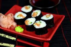 Sushi Maki z Łososiem Maki, Foods To Eat, Ethnic Recipes, Film, Movie, Film Stock, Cinema, Films