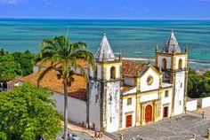 Centro histórico de Olinda – PE - Brasil