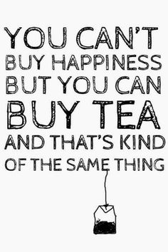 Delicious Examples of Food Typography You can't buy happiness, but you can buy tea, and that's kind of the same thing.You can't buy happiness, but you can buy tea, and that's kind of the same thing. Humor Vintage, Vintage Tea, The Words, Buy Tea, Cuppa Tea, Funny Phrases, Quotes About Moving On, Quotes About Tea, Happy Quotes