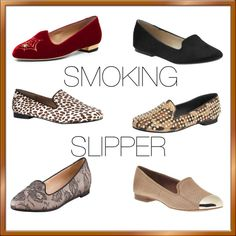 """THE SMOKING SLIPPER"" by ashlips33 on Polyvore"