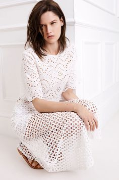 Zara Blanco Primavera 2015