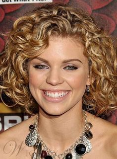 Medium Length Curly Hairstyles 60 Curly Hairstyles To Look Youthful Yet Flattering  Pinterest