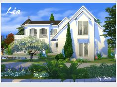 A lovely villa for Sims who love nature and enjoy spending time outdoors with their four legged companion. Found in TSR Category 'Sims 4 Residential Lots'