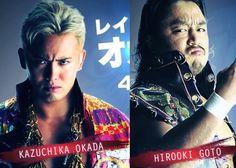 Kazuchika Okada and Hirooki Goto