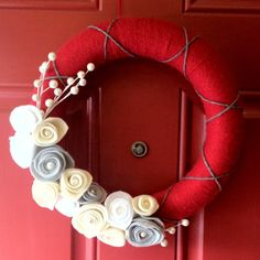 Winter Wreath- for the in-between Thanksgiving and Christmas time