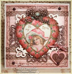 The Funkie Junkie: A Very Vintage Valentine, OCC DT Challenge Card