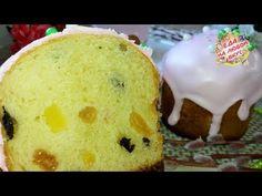 Пасхальный Кулич – такой, Вы точно не готовили! Влажный, сдобный и Волшебно-вкусный. - YouTube Vanilla Cake, Food Art, Recipies, Muffin, Food And Drink, Pudding, Easter, Baking, Drinks