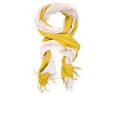 Two-tone scarf, BCBG