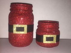 Santa Suit Mason Jar - christmas decor - christmas gifts - holiday cen – Always the Occasion