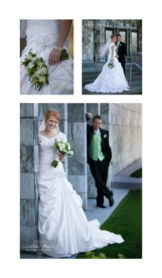 Great bridal posing and composition for wedding photography!