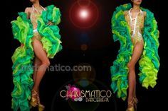 Charismatico Dancewear Store - CHARISMATICO Extra Luxurious Bi-Toned Lime and Emerald Green Organza Ruffle Boa, $90.00 (http://www.charismatico-dancewear.com/charismatico-extra-luxurious-bi-toned-lime-and-emerald-green-organza-ruffle-boa/)