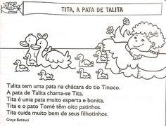 Resultado de imagem para frases infantis para ler