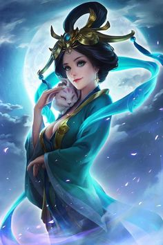 If you are interested in drawing a beautiful fantasy girl, then I hope this article is going to help you. I want to show you some awesome ideas for how to draw your fantasy girl. Fantasy Girl, Chica Fantasy, Fantasy Art Women, Beautiful Fantasy Art, Anime Fantasy, Moba Legends, Fantasy Kunst, Digital Art Girl, Digital Art Fantasy
