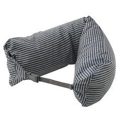 Neck Cushion - Navy Stripe