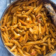 Everything you love about fajitas transformed into the creamiest andtastiest pasta. This spicy pasta makes a great addition to your