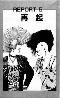 Art by KAMIJO Atsushi (上條淳士) and story by KARIYA Tetsu (雁屋哲), Zingy