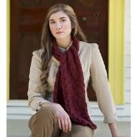 Downton Abbey Mirrored Cable Scarf Free Download