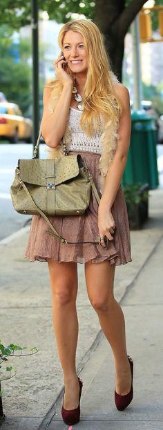 Gossip Girl Style Serena van der Woodsen