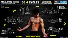 abs and core routine medium
