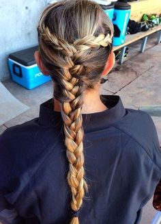 Softball hairdo ideas
