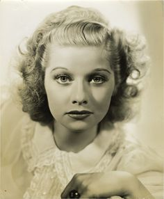 Lucille Ball from Too Many Girls (1940